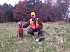 Jagd heute Daverden Manfred Gans