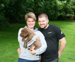 Martina und Henning mit Hudson