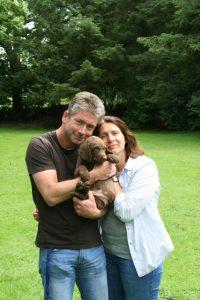 Michael und Petra mit Hailey